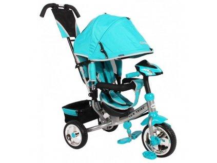 Baby Mix tříkolka s LED světly Lux Trike modrá
