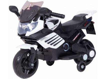 TBK dětská elektrická motorka Minibike FF1200 Eva kola bílá