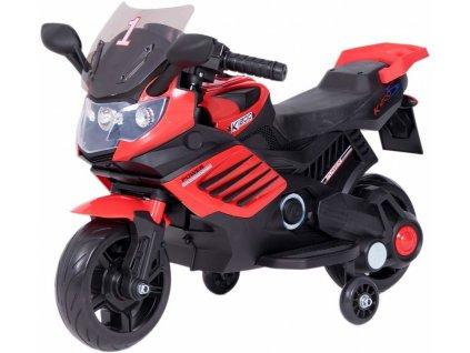 TBK dětská elektrická motorka Minibike FF1200 Eva kola červená