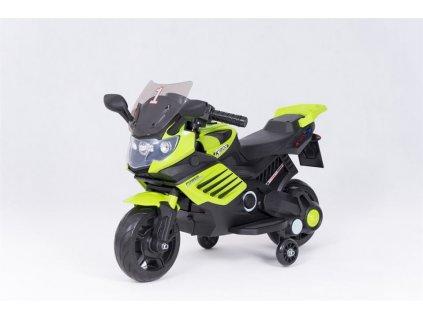 Dětská elektrická motorka K1200 zelena