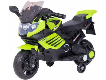 TBK dětská elektrická motorka Minibike FF1200 Eva kola zelená