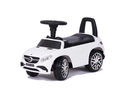 TBK Odrážedlo Mercedes Benz GLE 6,3 coupe s USB MP3 bílé