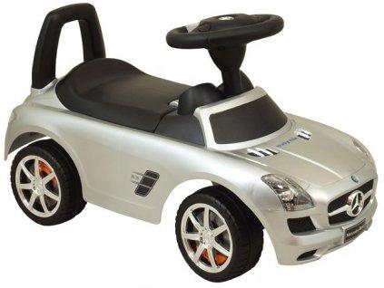 Baby Mix odrážedlo Mercedes-Benz stříbrné