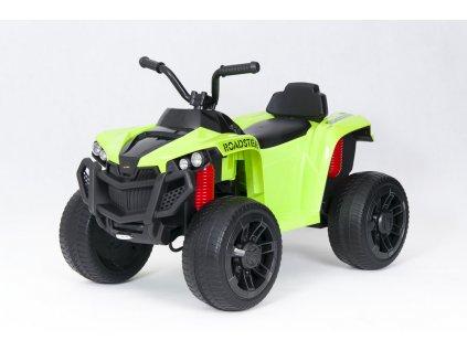 Elektrická čtyřkolka ATV Roadster zelená (3)