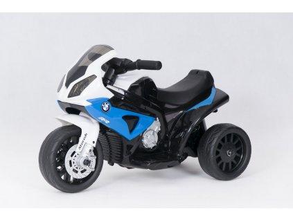 Dětská elektrická motorka BMW S 1000 RR modrá) (1)
