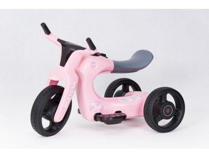 Dětská elektrická motorka Future 2019 FC růžová (7)