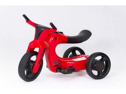 Dětská elektrická motorka Future 2019 FC červená (2)
