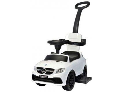 Baby Mix odrážedlo Mercedes s vodící tyčí 3v1 bílé6