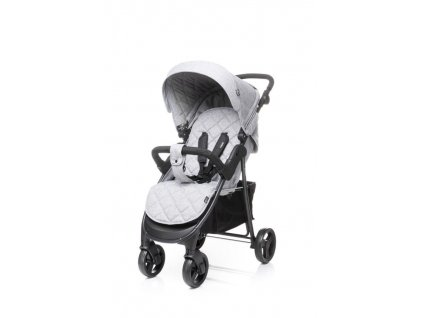 Kočárek 4Baby Rapid 2019 light grey