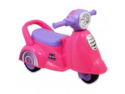 Baby Mix dětské jezdítko skútr růžový