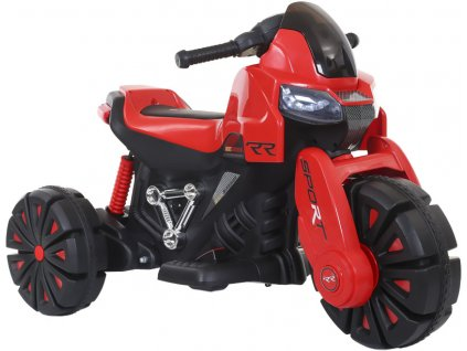TBK dětská elektrická motorka tříkolová RR 2019 červená