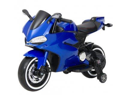 TBK dětská sportovní motorka Ducati Panigale 2019 12V modrá