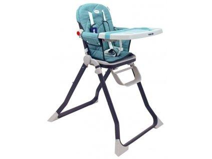 Jídelní židlička Baby Mix Smart zelená