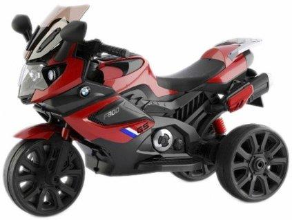 TBK dětská tříkolová motorka GS1300 červená