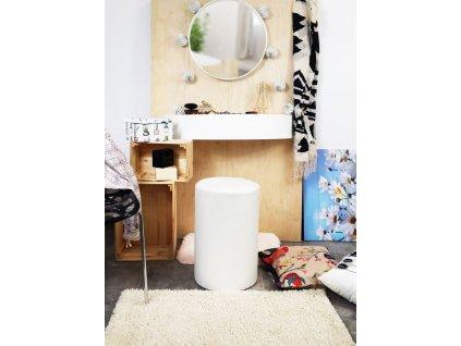 Tobiland toaletní stolek Alice bílý5