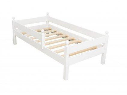 Dětská postel z masivu Nella bílá 80x160 cm¨1