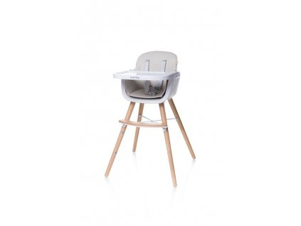 4Baby Jídelní židlička SCANDY béžová (1)