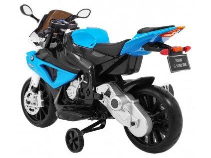 Velká dětská elektrická motorka BMW 1000 RR modrá3
