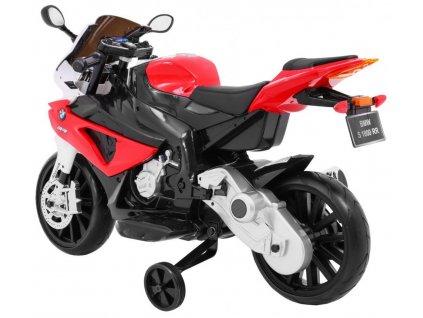 Velká dětská elektrická motorka BMW 1000 RR červená2