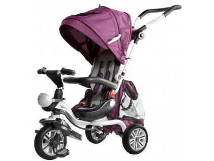 Dětská tříkolka Dizzy pěnová kola fialová (5)