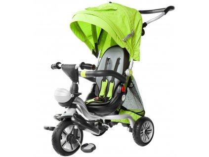 Dětská tříkolka Dizzy pěnová kola zelená (1)