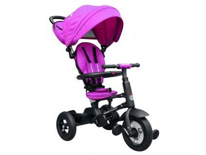 Dětská tříkolka Vario gumové kola fialová (1)