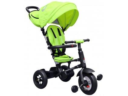 Dětská tříkolka Vario gumové kola zelená (1)