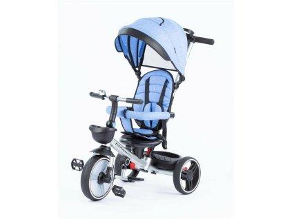 Baby Mix tříkolka Taxi rozložitelná 2020 modrá (2)