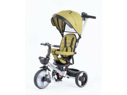 Baby Mix tříkolka Taxi rozložitelná 2020 zelená (2)