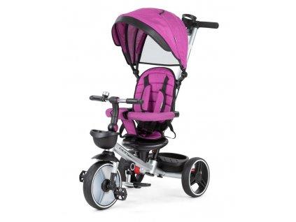 Baby Mix tříkolka Taxi rozložitelná růžová