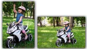 Detské elektrické motorky