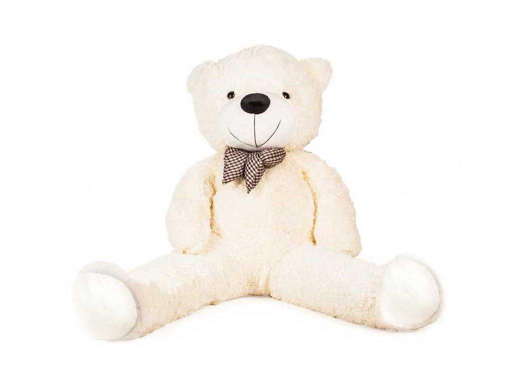 Doris Veľký plyšový medveď 130 cm biely