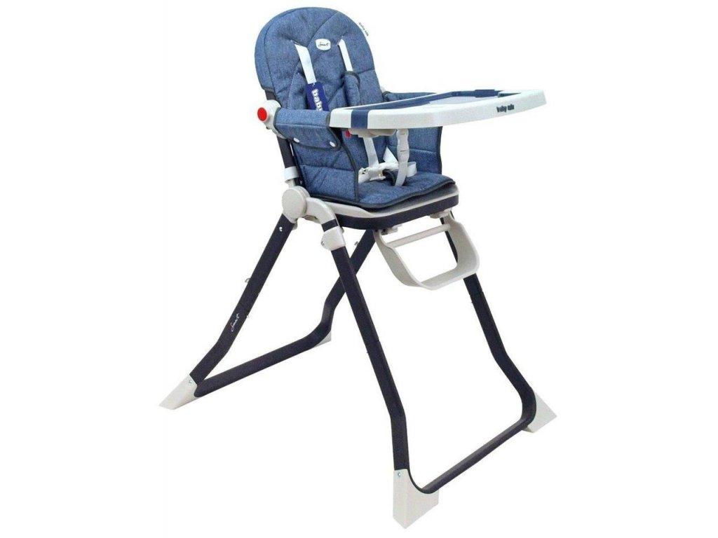 2d84de56d240 Jedálenská stolička Baby Mix Smart modrá - Tobiland.sk