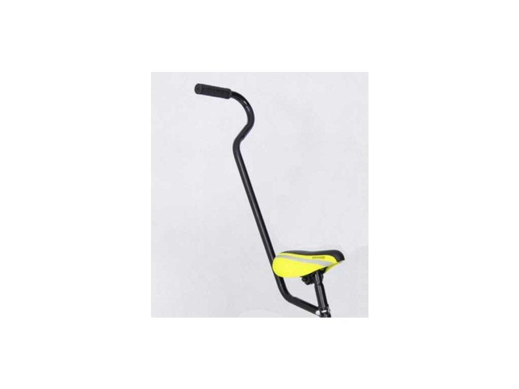 TBK Vodiaca tyč na detský bicykel s oblúkom čierna