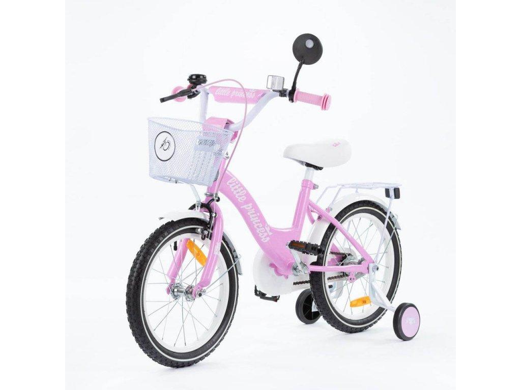 Detský bicykel 16 TBK Little princess ružové (3)