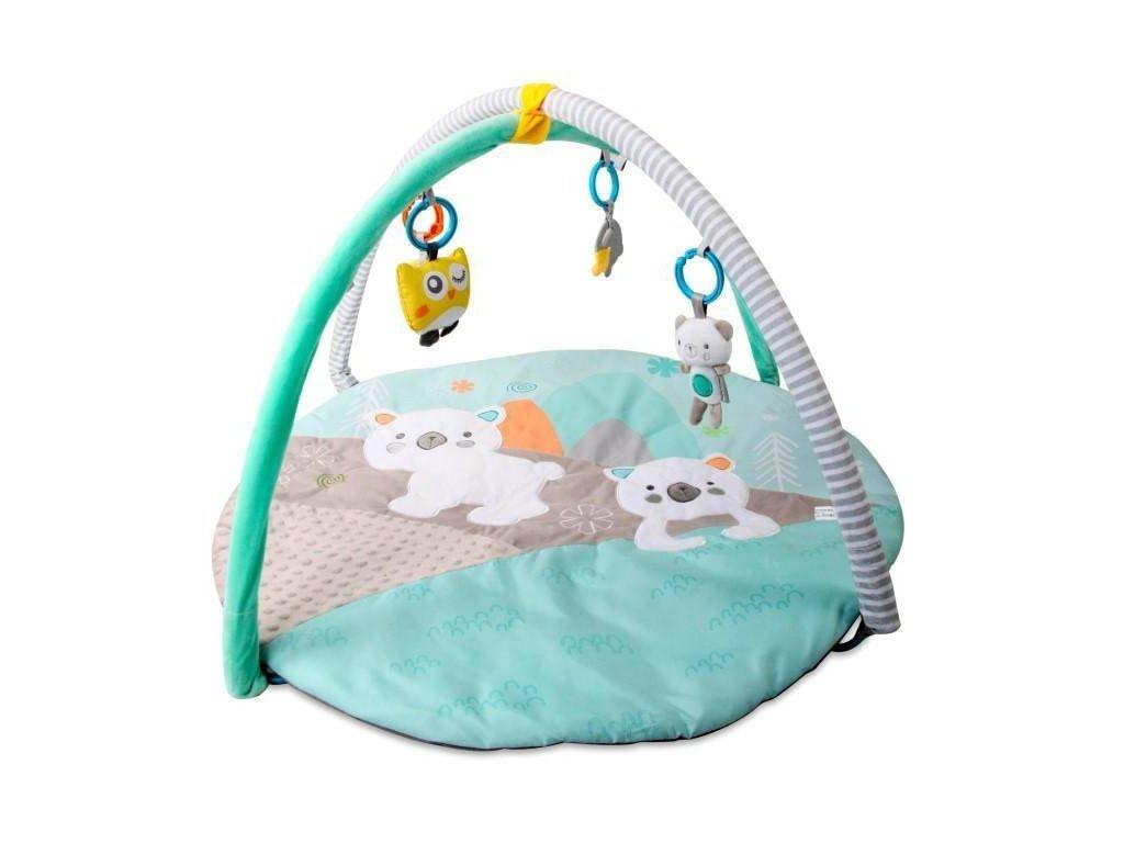 Sun Baby hracia deka polárny medvedík biely (2)