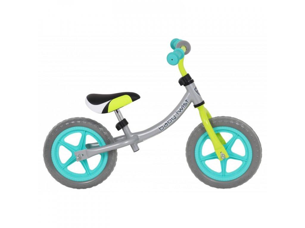 Odrážadlo bicykel Twist 12 palcov farebné