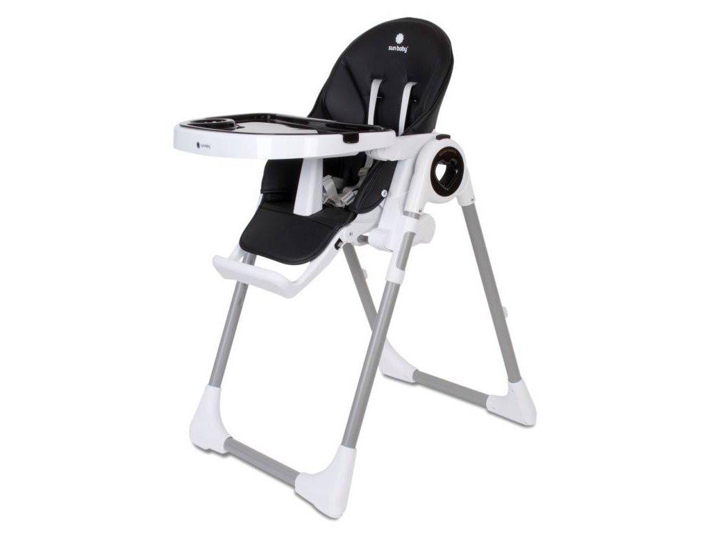 Sun Baby jedálenská stolička FIDI LOVE 3v1 čierna (1)