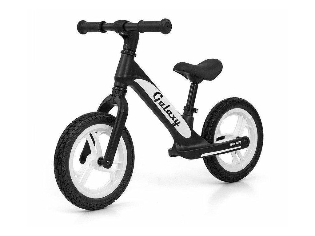 Milly Mally odrážacie bicykel 12 Galaxy black (5)