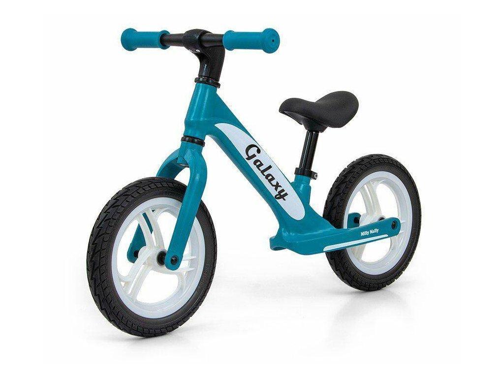 Milly Mally odrážacie bicykel 12 Galaxy blue (1)