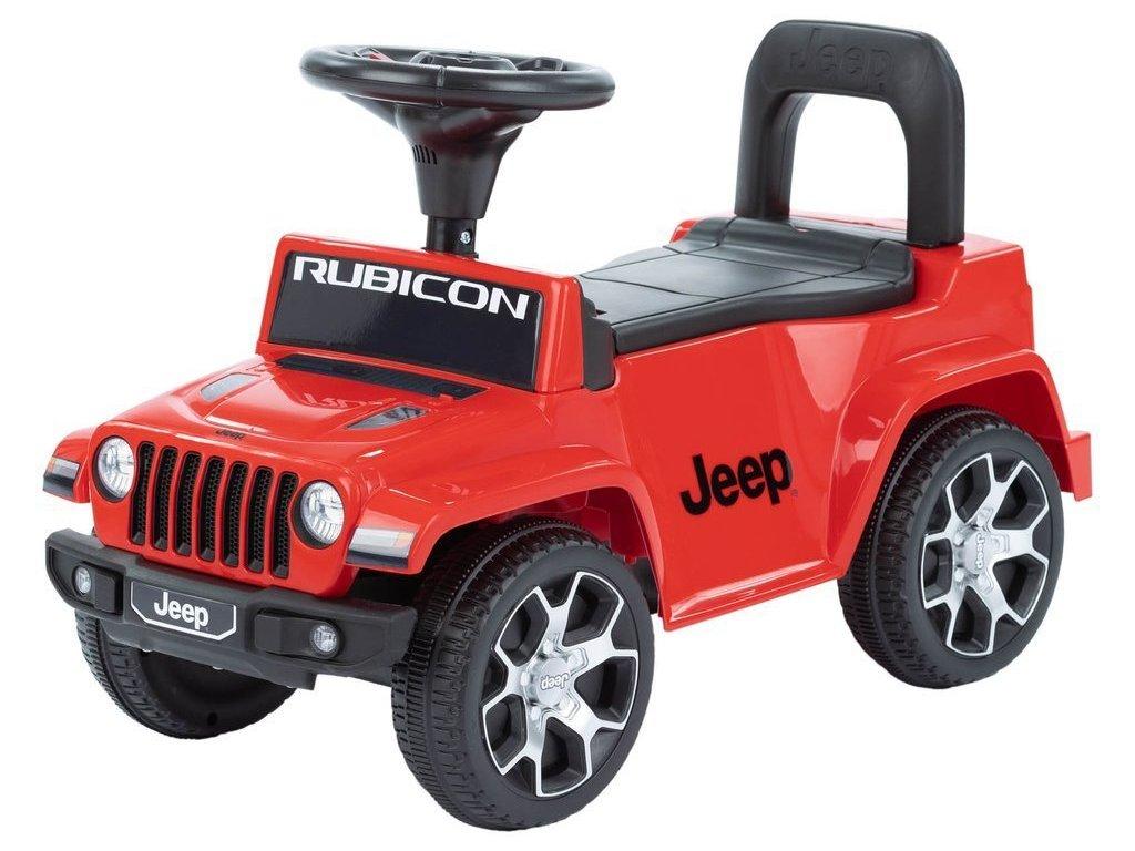 TBK odrážacie auto Jeep R230 červené