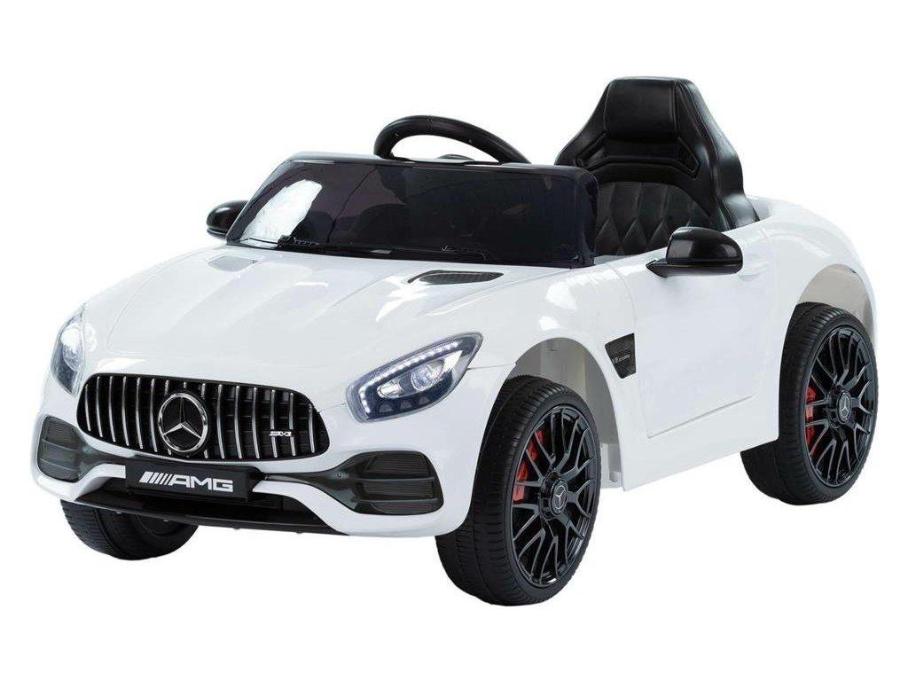 Detské elektrické autíčko Mercedes Benz GT biele (3)