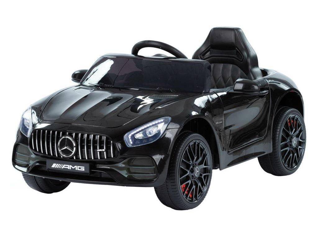 Detské elektrické autíčko Mercedes Benz GT čierné (2)
