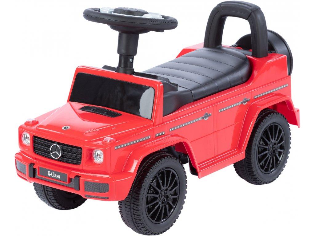 TBK odrážacie autíčko MERCEDES G350d červené (4)