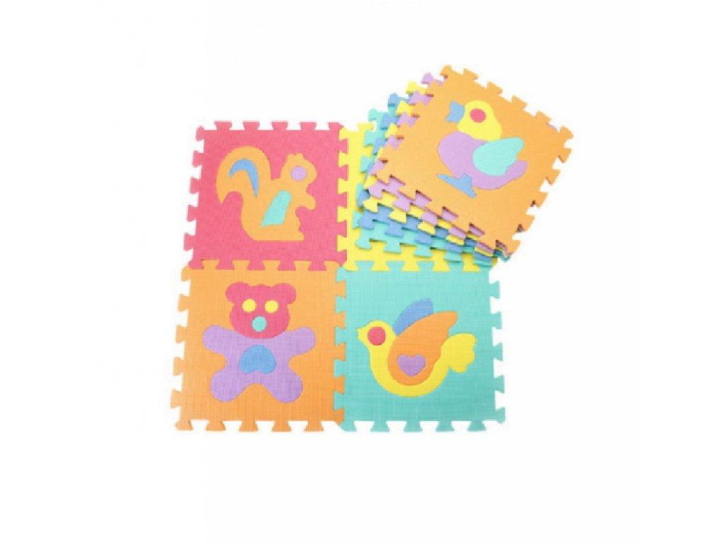 Penové puzzle zvieratka 10 dielikov