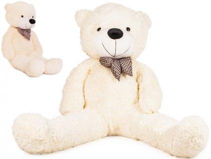 Veľký plyšový medveď 150 cm biely