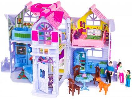 Doris skladacie domček pre bábiky (2)
