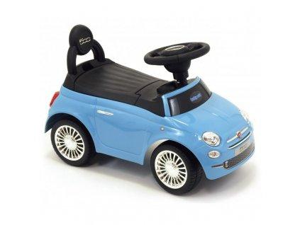 Baby Mix odrážadlo Fiat 500 modrý