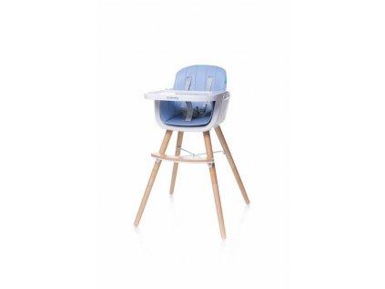 4Baby Jedálenská stolička SCANDY modrá (5)