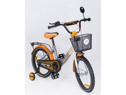 Detský bicykel 16 Dakota special edition oranžové (3)
